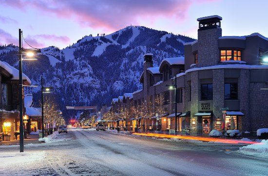Sun Valley-Ketchum, ID: Downtown Ketchum in Winter