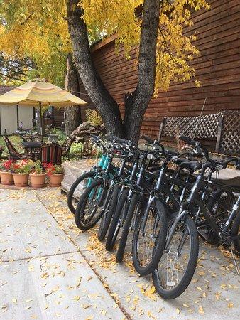 Frisco, CO: Complimentary bikes