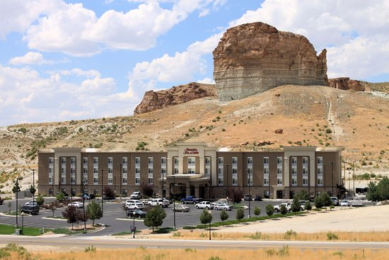 Green River, WY: Hotel Exterior