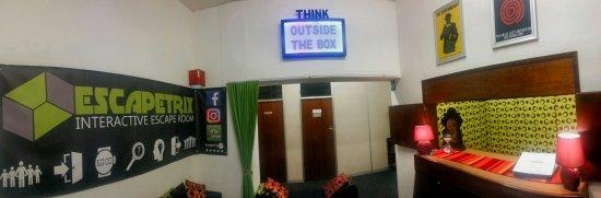 Our reception area.