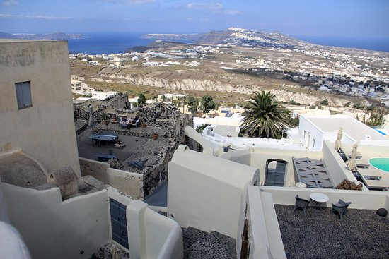 Zannos Melathron Hotel: Beautiful view from the room Marcos