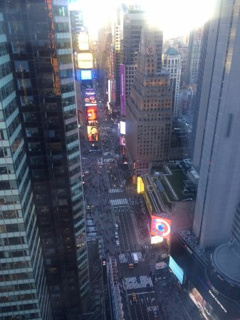 DoubleTree Suites by Hilton Hotel New York City - Times Square: Corner Conference Suite on the 41st floor.