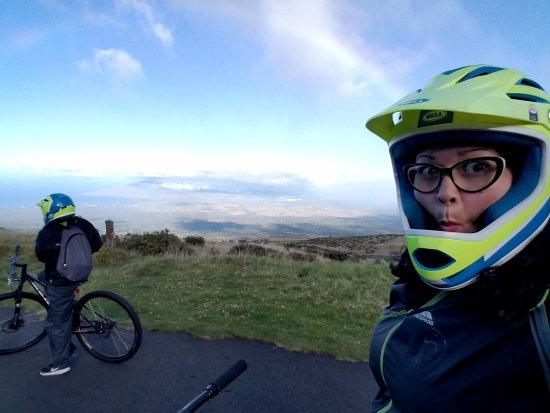 Paia, Hawái: Say whaaat??? I gotta ride this bike for 27 miles???