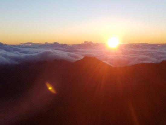 Paia, HI: Haleakela Sunrise