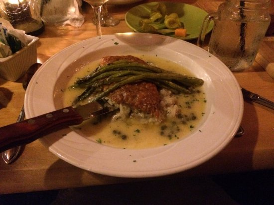 Fortuna, Kalifornien: Chicken piccata