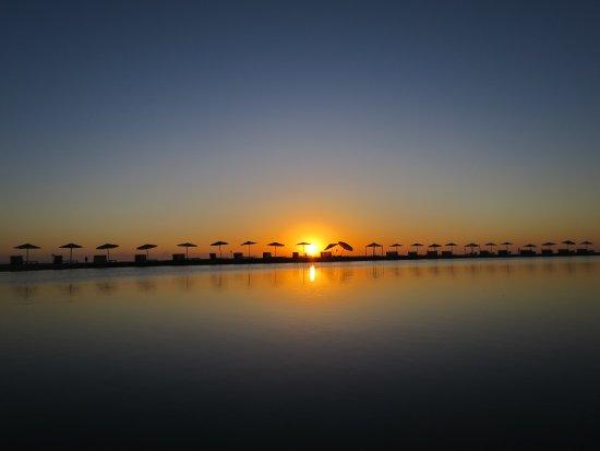 Movenpick Resort & Spa El Gouna: Lever de soleil