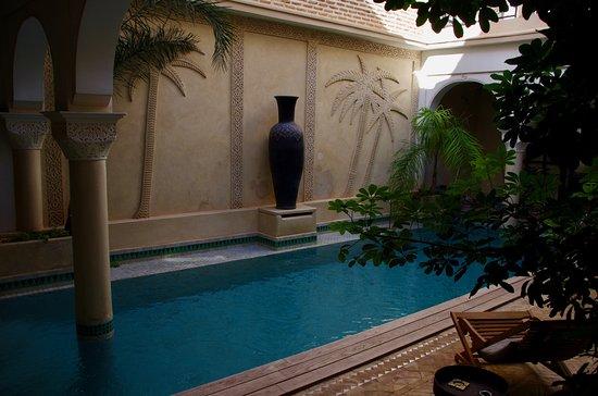 Patio Avec Piscine Chauffee Picture Of Riad La Villa Marrakech