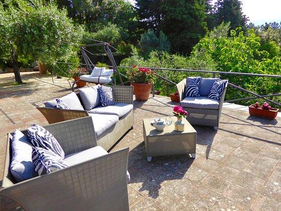 Montorsoli, Italia: Terrazza panoramica