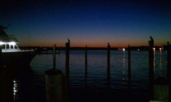 Belmar, NJ: Sunset at the Marina