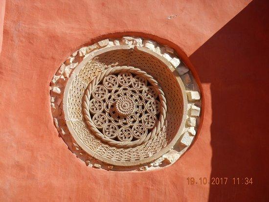 Zica Monastery: Beautiful roseta.