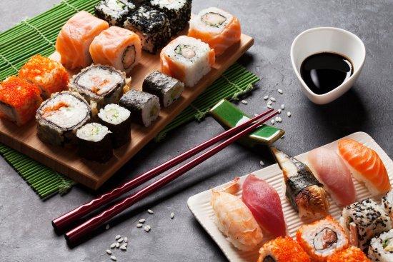 Benowa, Αυστραλία: Sushi