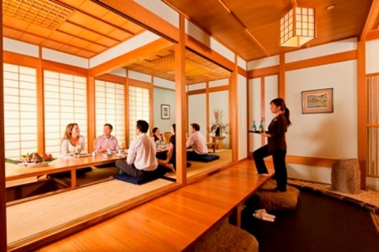 Benowa, Αυστραλία: 2 Teppan rooms for private dining