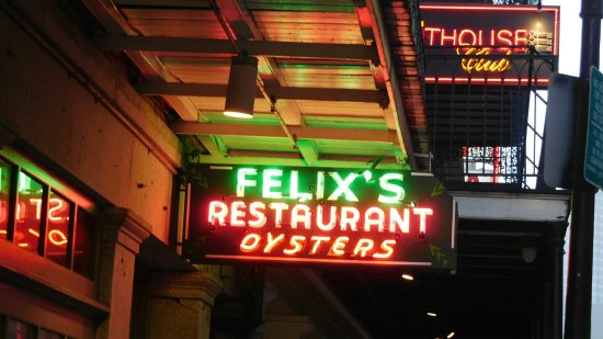 Felix's Restaurant and Oyster Bar: give it a go