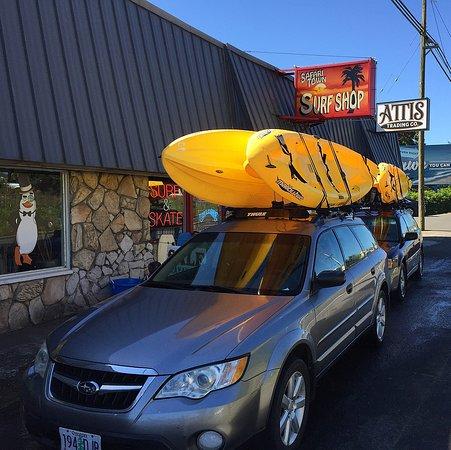 ลิงคอล์นซิตี, ออริกอน: Safari Town Surf Kayak Tours
