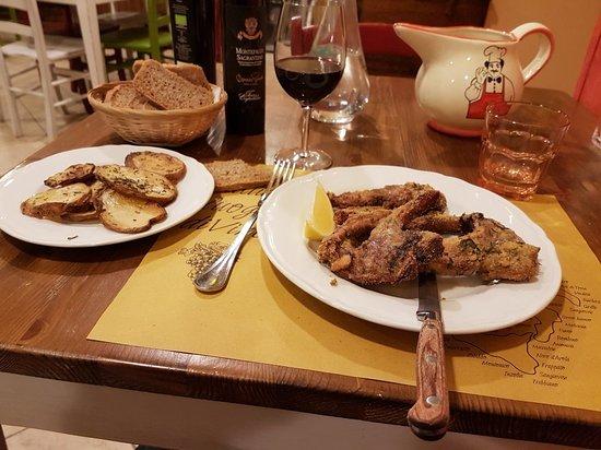 San Terenziano, Italia: Una cena fantastica
