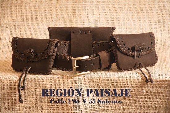 ddf167759 Region Paisaje / Landscape Region: Leather Products! Artículos en cuero