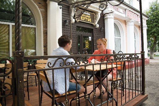 Polotsk, Bielorrusia: терраса