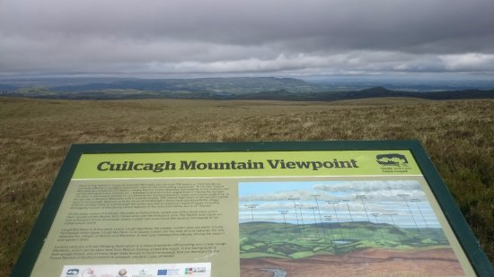 Cuilcagh Legnabrocky Trail: another information board