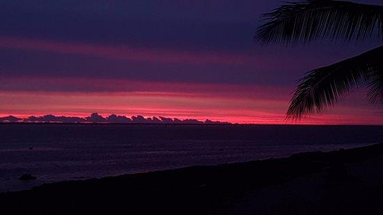 Maui Palms: Spectacular sunset
