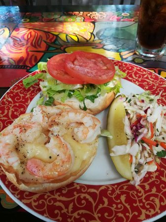 Shrimp melt - Picture of Blue Heaven, Key West - TripAdvisor