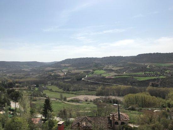 Brihuega, España: Vistas desde los jardines.