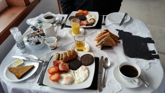 Foyers, UK: BREAKFAST! WOW, Fantastic, thanks Ruby!