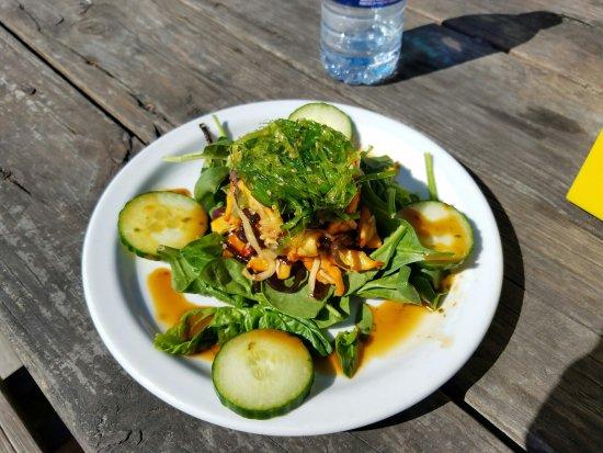 North Beach Bar & Grill: Calamari, Octopus, Seaweed Salad....Delicious!