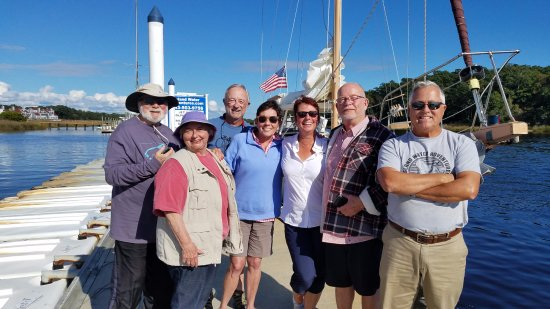 Enchanted Sailing Charters: Our crazy fun group with Captain John