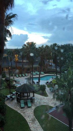 Hawthorn Suites by Wyndham Orlando Lake Buena Vista : Vista do quarto