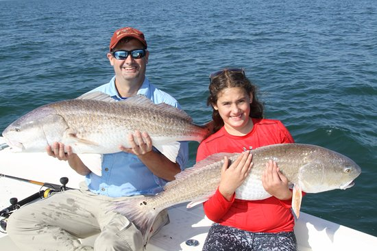 Isle of Palms, SC: Double Hookup on Massive Red Drums