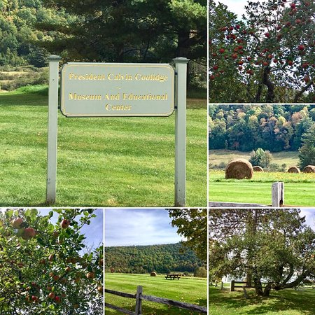 Plymouth, VT: Entrance area collage