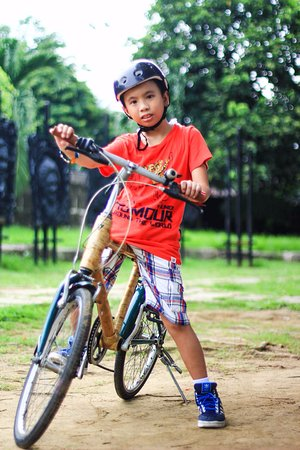 Bambike Ecotours Intramuros: Kids will surely enjoy and learn as well !