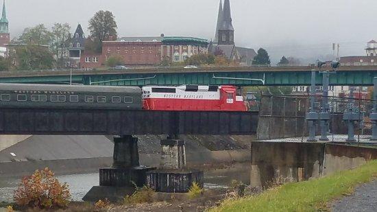 Cumberland, Мэриленд: Western Maryland Scenic Railroad