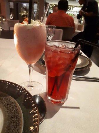 Rama V Fine Thai Cuisine: The Strawberry milkshake was superb..