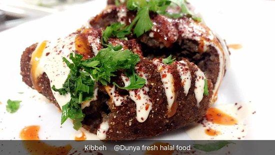 KIBBEH - Picture of Dunya Fresh Halal Food, Waterbury - TripAdvisor