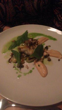Newport -Trefdraeth, UK: Monkfish ...main course