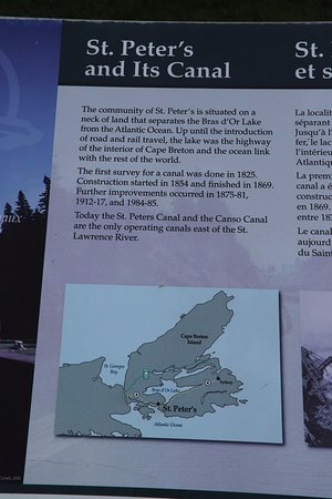 Battery Provincial Park: About the canal