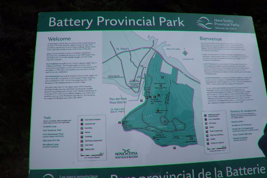About the Battery Provincial Park