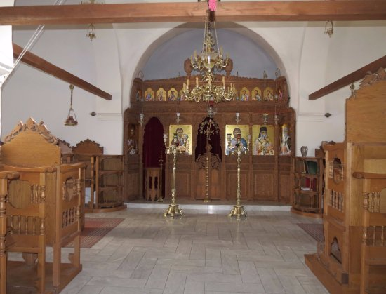 Monastery of Profitis Ilias - Chapel
