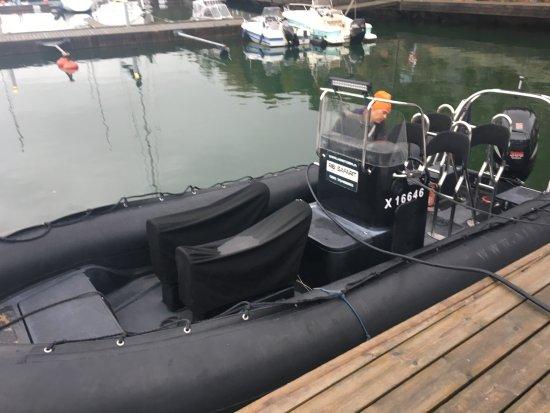 Parainen, Finlandia: 高速ゴムボート