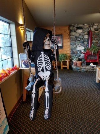 McCall, ID: Halloween Decorations