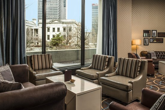 Sheraton Columbus at Capitol Square Hotel: Plaza Lounge