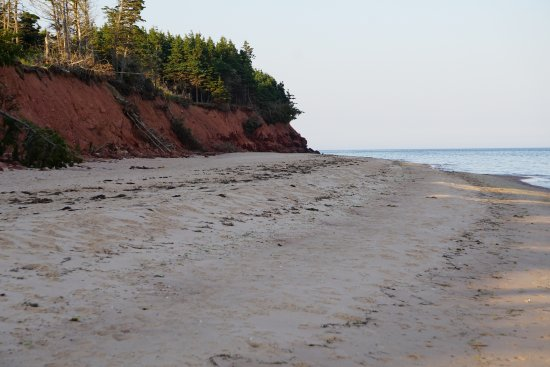 Elmira, แคนาดา: The beach one way