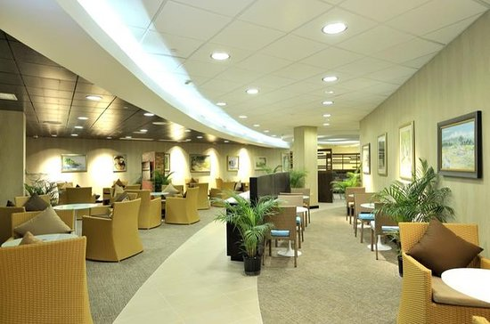 Jamaica Sangster Airport Lounge...