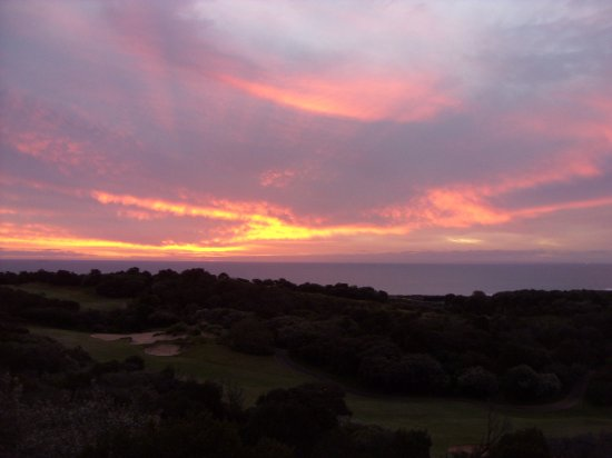 Cape Schanck, Avustralya: Sunset from Premium Room