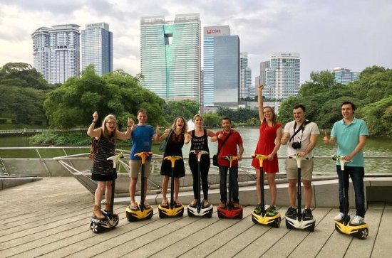 Segway Tour: Guided Eco Ride at KL...