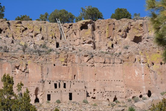 Espanola, NM: Puye Cliff Dwellings