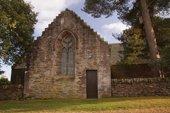 Auchterarder, UK: Beautiful arched window