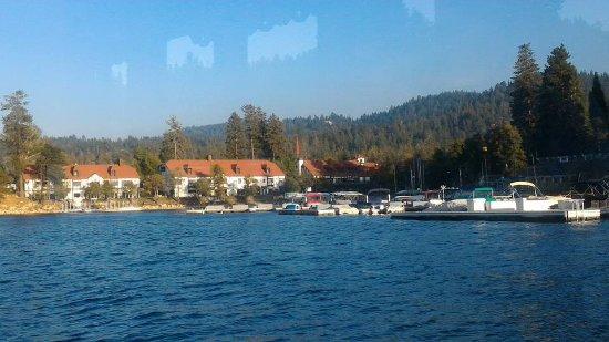 Boat ride in Lake Arrowhead