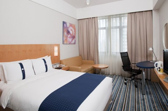 Holiday Inn Express Shenzhen Luohu: Queen Bed Guest Room
